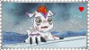 Gomamon Stamp by L3xil3in