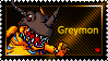 Greymon Stamp by L3xil3in