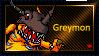 Greymon Stamp by L3xil3in