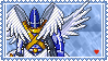 Holy Angemon Stamp by L3xil3in