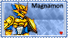 Magnamon Stamp by L3xil3in