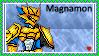 Magnamon Stamp by L3xil3in