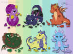 HATCHLINGS CONTEST by srs17