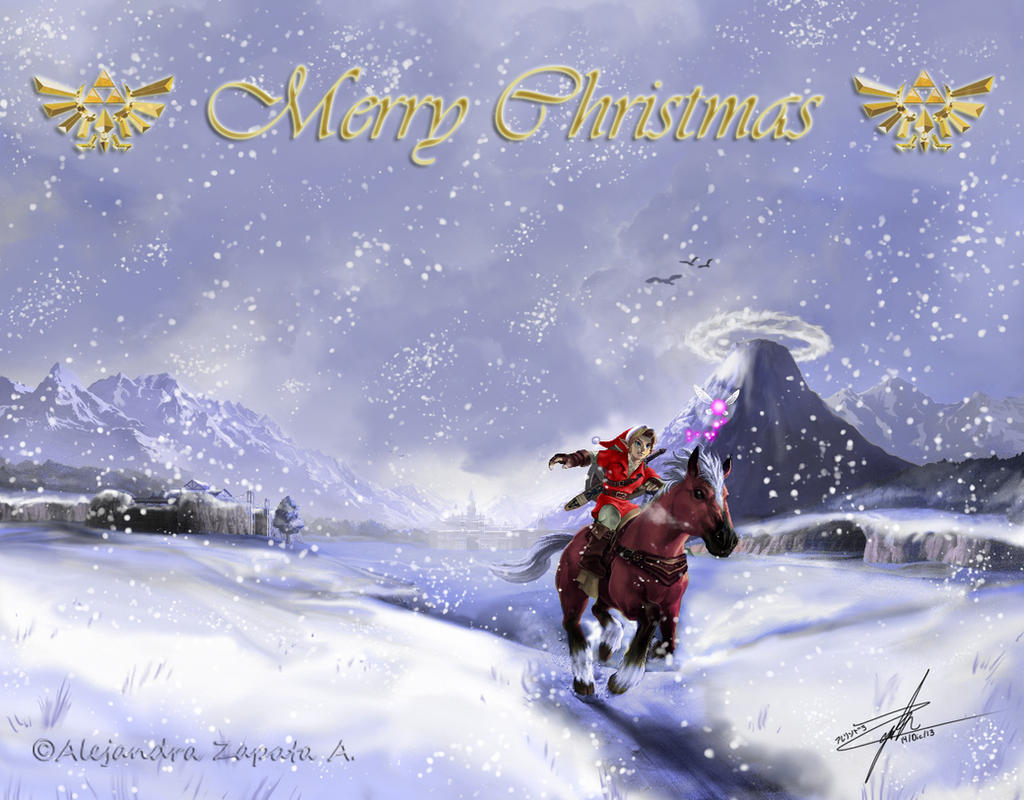 Merry Christmas :zelda: by srs17 on DeviantArt