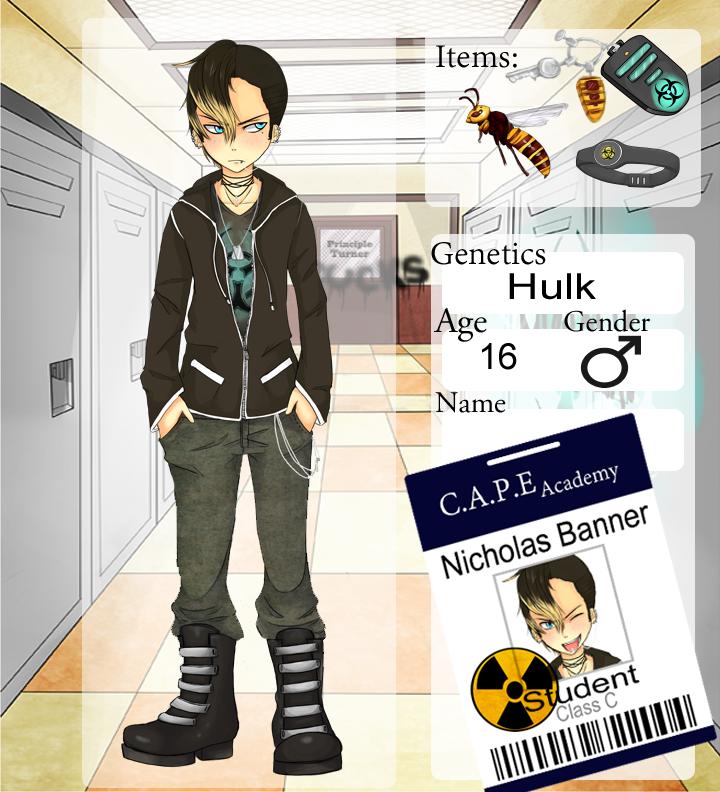 Nicholas Banner Student App by angelpink7