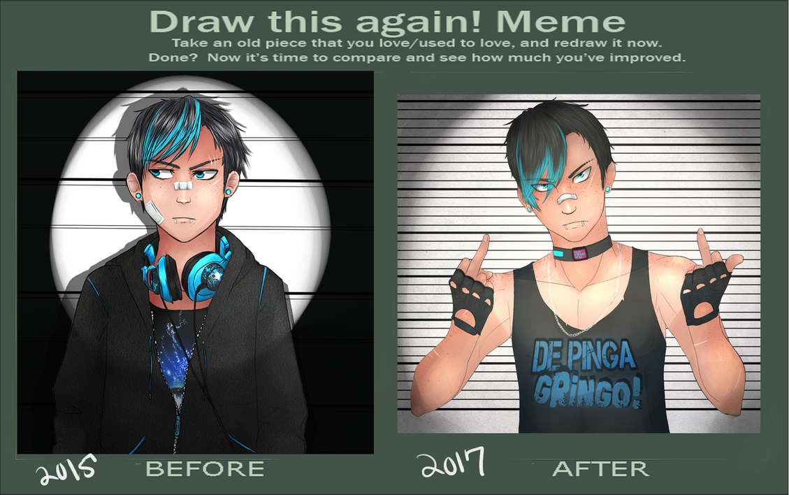 Before and After Thug Life by angelpink7
