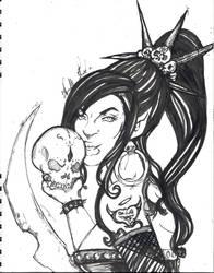 Skulls by oOTouchAndGoOo