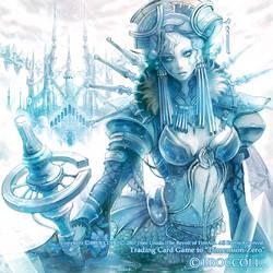 Dimension-zero'Queen of ice'