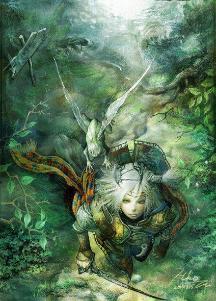 Fairy prince by HiroUsuda