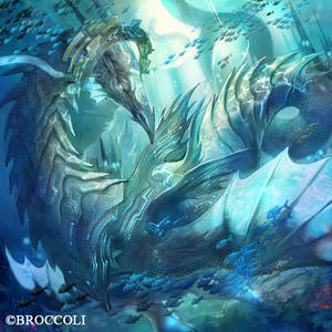 abyss dragon 'blue mist '