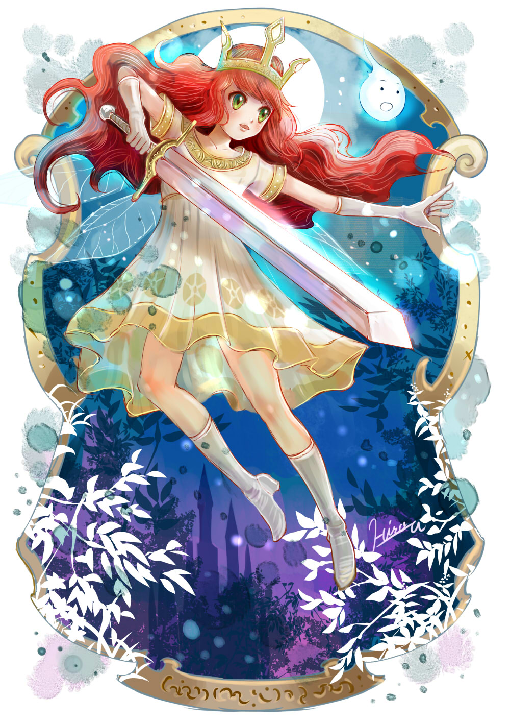 Anime Queen Of Light Child of Light by HiroUsuda