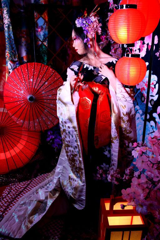 Oiran by HiroUsuda