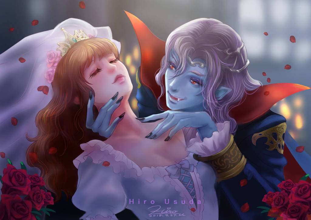 Vampire and the bride by HiroUsuda