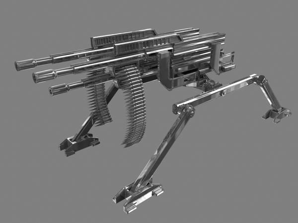 mwo machine gun
