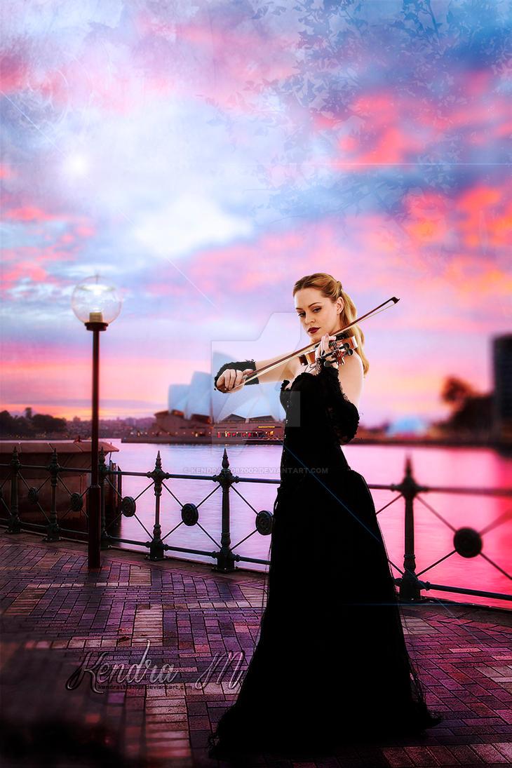 A Sydney Violinist - Fotomanipulacion by kendra19082002