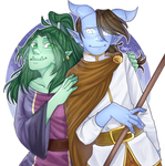 [CM] Lunnaday and Akriel
