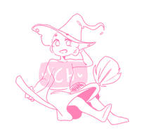 Witch YCH! [2/3 slots] by Gaarii