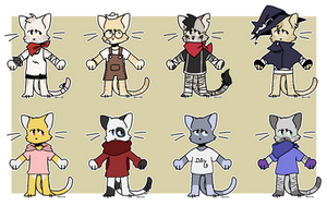 COLLAB ADOPTS - 5/8 OPEN by Gaarii