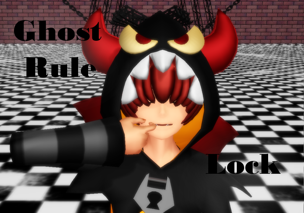 [MMD] Ghost Rule [Lock] by xMMDPandux