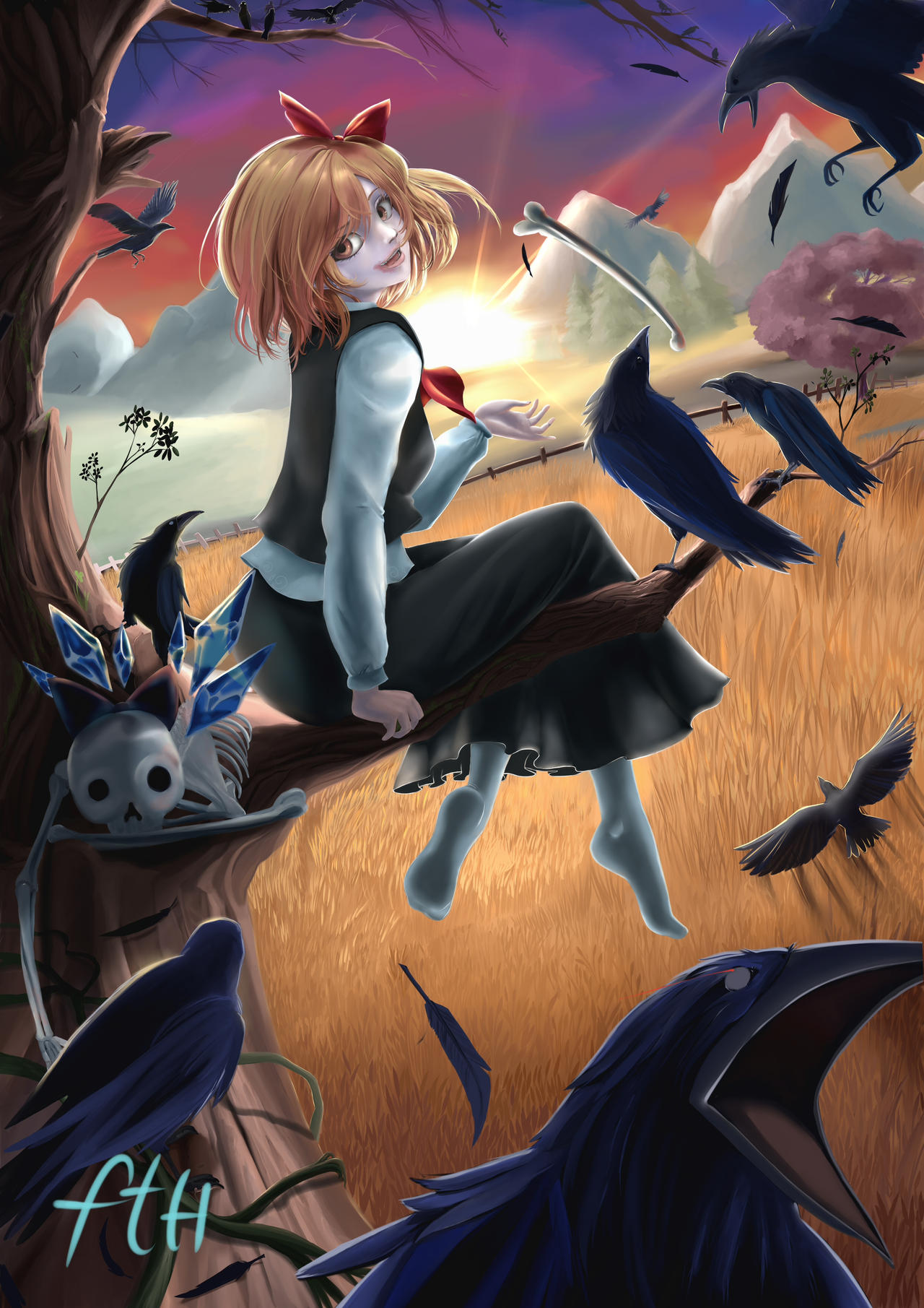 Rumia Fan Art by Killerjaja