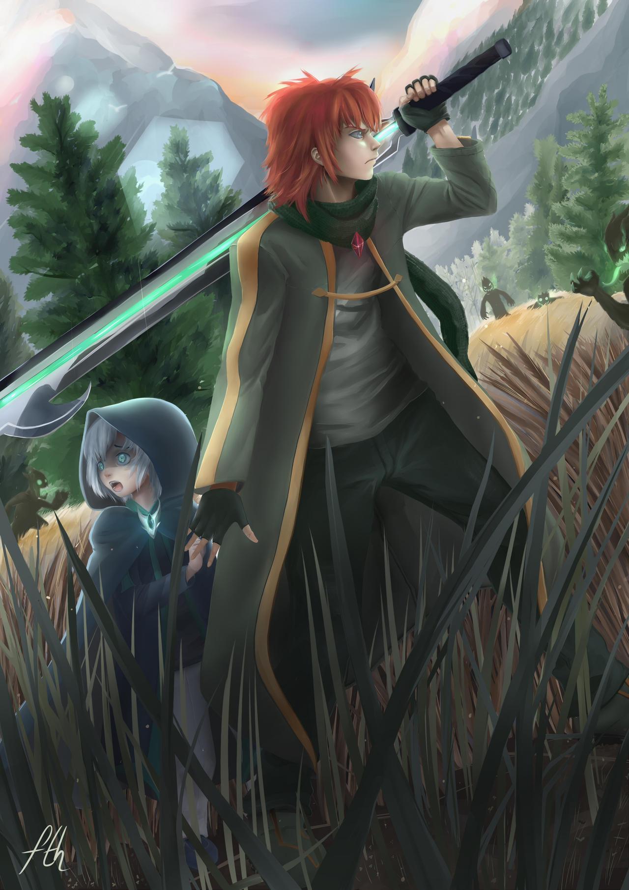 Zack-Xeno Contest / Surrounded! by Killerjaja