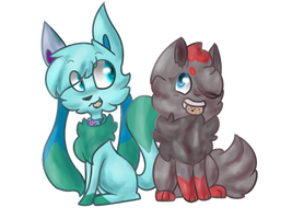 COLLAB|Cookie Pals by PasteI-Punk