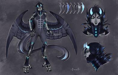 Harpy Cyborg Adopt [closed] by BeSSeB