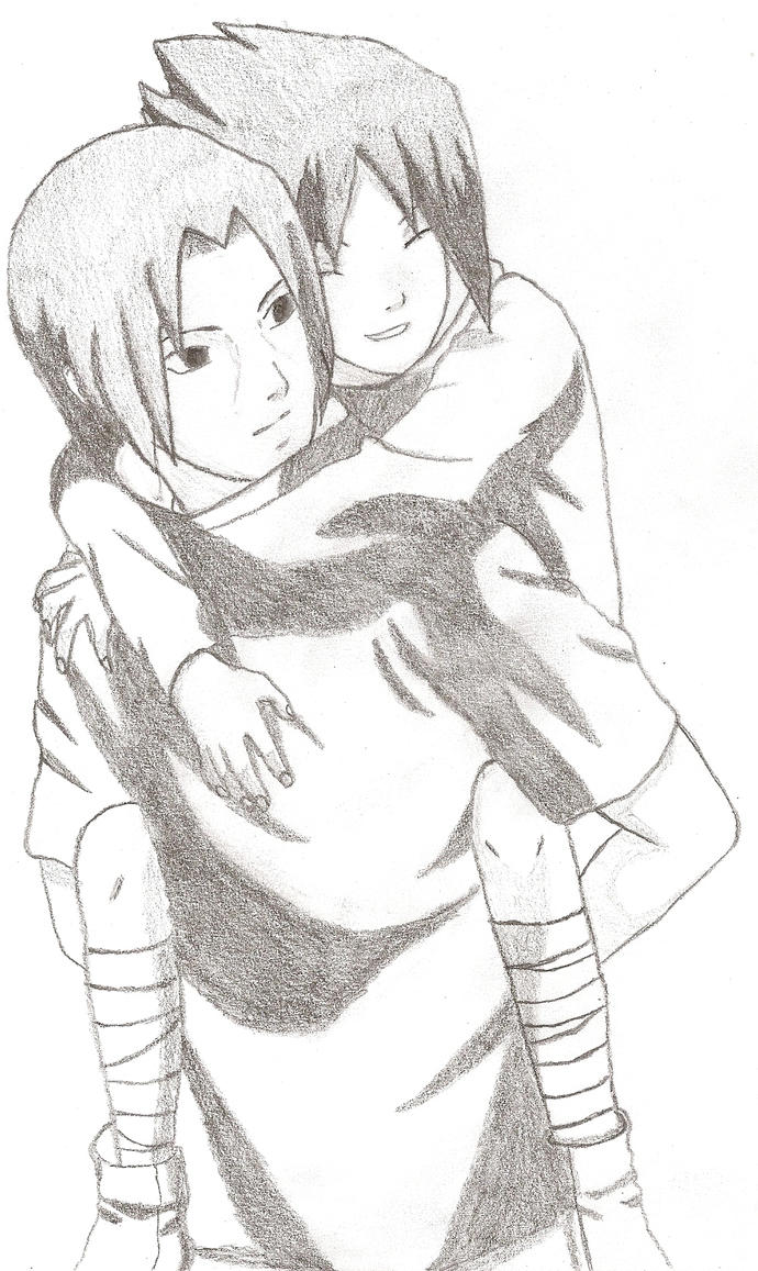 Itachi and Sasuke by Jolieh