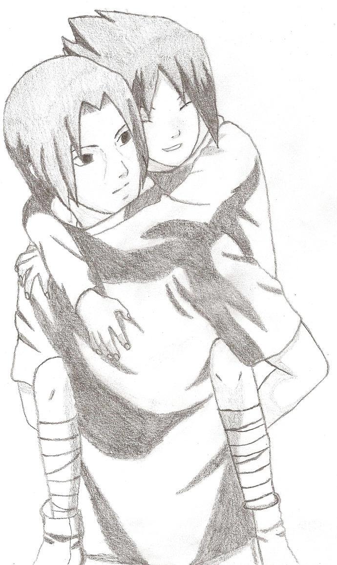 Itachi and Sasuke by Jolieh