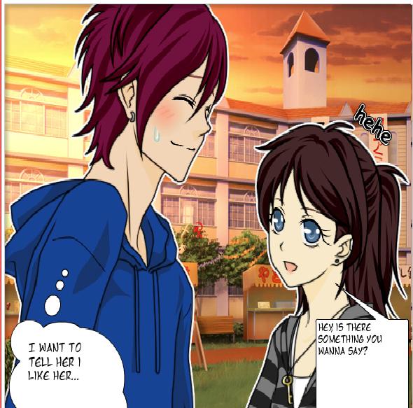 Anime love by rhuined dream eater on deviantart - Anime wolves in love ...