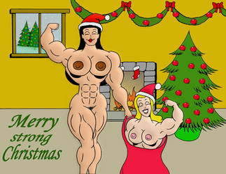 Verna Merry Strong Christmas by loenror