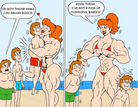 Brigitte Beach Hug