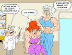 Brigitte Gets her Vaccine by loenror