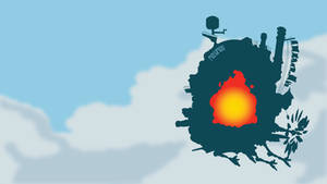 Castle from Howl's Moving Castle | Minimalist