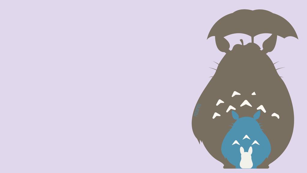 Totoro from My Neightbor Totoro   Minimalist by matsumayu ...