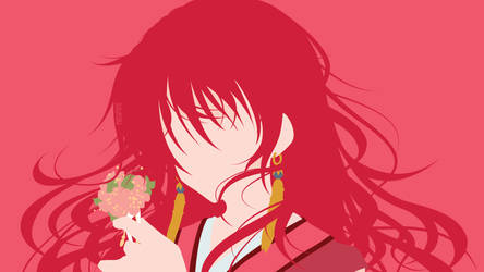 Princess Yona from Akatsuki no Yona | Minimalist by matsumayu