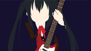 Azusa Nakano from K-ON | Minimalist