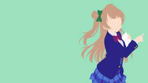 Minami Kotori from Love Live! | Minimalist