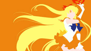 Sailor Venus from Sailor Moon Crystal | Minimalist
