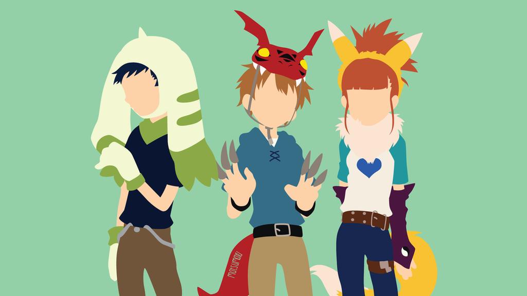 Hello very todos Digimon_tamers_minimalist_by_matsumayu-d9anuai