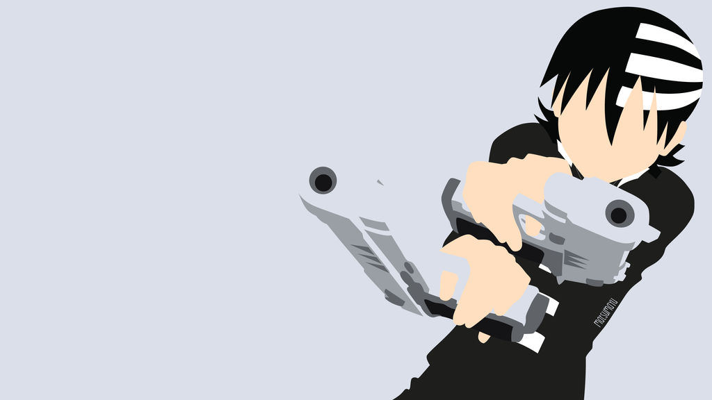Death the Kid from Soul Eater | Minimalist by matsumayu ...