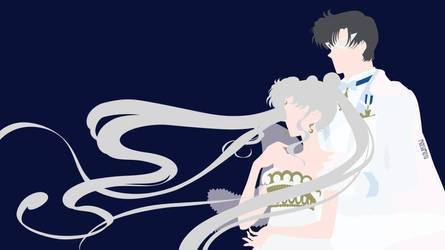 Serenity and Endymion from Sailor Moon Crystal by matsumayu