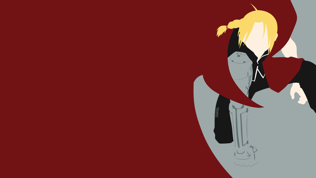 Edward Elric from Fullmetal Alchemist | Minimalist by ...