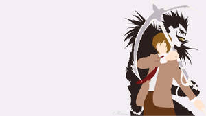 Ryuk and Light from Death Note by matsumayu
