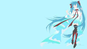 Miku Hatsune from Vocaloid by matsumayu
