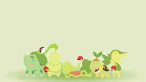 Grass Starters by matsumayu