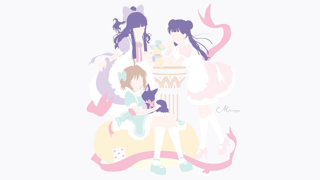 Sakura, Tomoyo and Meiling from Cardcaptor Sakura by matsumayu