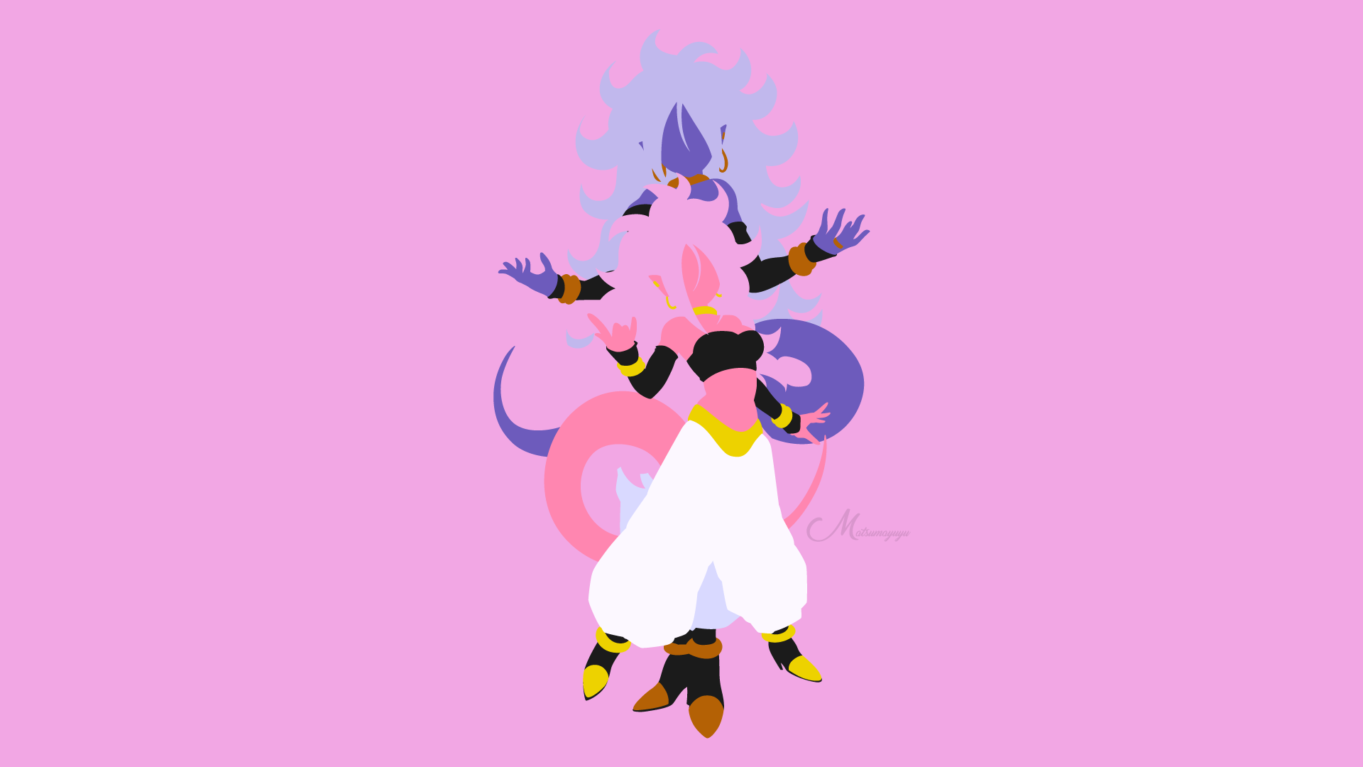 Majin Android 21 From Dragon Ball Fighterz By Matsumayu On Deviantart
