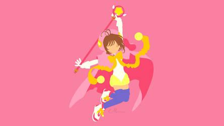 Sakura Kinomoto from Cardcaptor Sakura by matsumayu