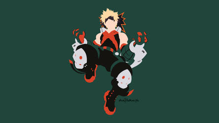 Bakugou Katsuki from Boku no Hero Academia